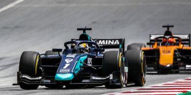 Sean Gelael Kembali Raih Poin pada Balapan Kedua GP F2 Styria 2020