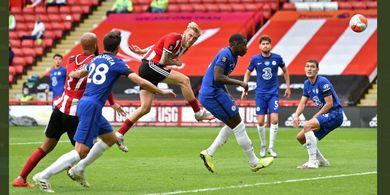 Hasil Liga Inggris - Chelsea Dibantai Sheffield 0-3, Man United Senyum