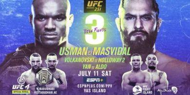 Hasil Lengkap UFC 251 - Harinya Para Juara Bertahan