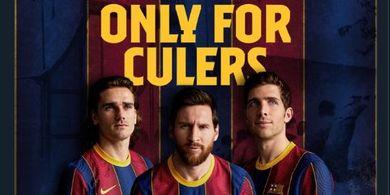 Barcelona Luncurkan Jersi Anyar Musim 2020-2021, Cek Harganya Yuk!