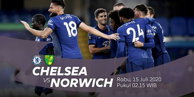 Link Streaming Chelsea Vs Norwich City, Persaingan Ketat Merebut Tiket Liga Champions