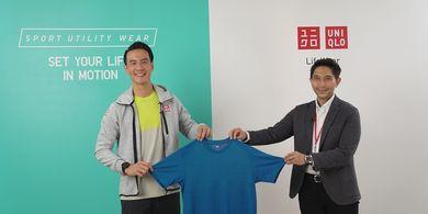UNIQLO Indonesia Pilih Daniel Mananta Jadi Brand Ambassador Sport Utility Wear
