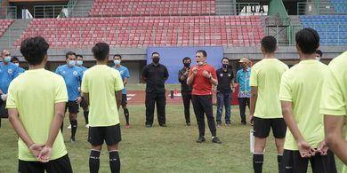 Bima Sakti Bicara Pemanggilan 12 Pemain Baru pada TC Timnas U-16 Indonesia
