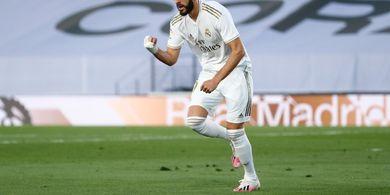 Hasil Babak I  - Kapten Real Madrid Blunder, Karim Benzema Balas dengan Sundulan