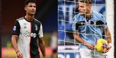 Bantu Lazio Cukur AS Roma, Ciro Immobile Lebih Tajam dari Cristiano Ronaldo