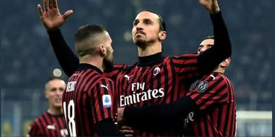 Zlatan Ibrahimovic Pakai Nomor 9 AC Milan, Kutukan Sudah Selesai
