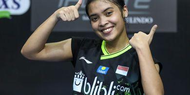 'Comeback' di Malaysia Open 2021, Gregoria Mariska Terus Genjot Fisik