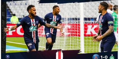 Susunan Pemain Atalanta Vs PSG - Neymar Pimpin Tim Hancurkan Rekor Buruk Lawan Klub Italia