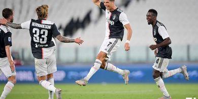 Starting XI Juventus vs Lyon - Ronaldo Starter, Dybala Cadangan