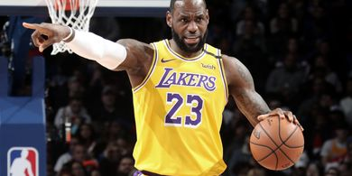 Hasil Playoffs NBA 2020 - Triple Double LeBron James Tak Cukup untuk Menangkan Lakers