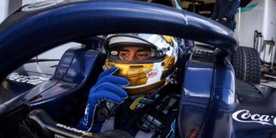 Sean Gelael Banyak Petik Hal Positif dari Balapan Pertama GP Inggris