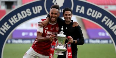 Aubameyang Bicara soal Masa Depannya Seusai Bawa Arsenal Juara Piala FA