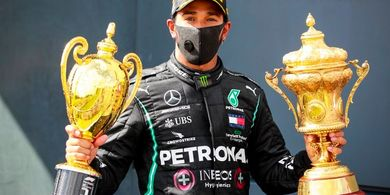 Jantung Lewis Hamilton Nyaris Lepas Akibat Ban Pecah pada GP Inggris