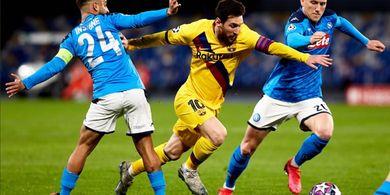Barcelona vs Napoli - Tim Tamu Bukan Lawan Enteng bagi El Barca