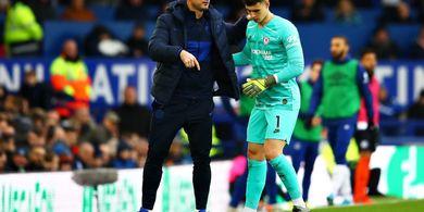 Kepa Arrizabalaga Bikin Blunder Lagi, Frank Lampard Justru Salahkan Bek Chelsea