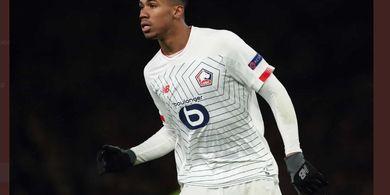 Shkodran Mustafi Cedera, Arsenal Terdepan Dapatkan Bek Lille daripada Man United