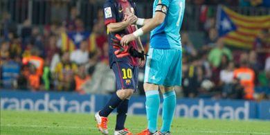 Lionel Messi Ngaku Kesusahan Menjinakkan Iker Casillas