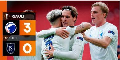 Hasil Liga Europa - Juara Baru Liga Turki Kolaps, Kobenhavn dan Shakhtar Donetsk ke 8 Besar