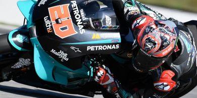 Masalah Serius Bikin Fabio Quartararo Melempem di MotoGP Rep. Ceska 2020
