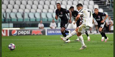 Hasil Liga Champions - Ronaldo Cetak Rekor 37 Gol, Juventus Ditendang Lyon