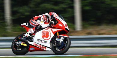 Hasil Moto2 Ceska 2020 - Pembalap Indonesia Naik 4 Tempat, Adik Valentino Rossi Posisi 4