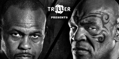 SEDANG BERLANGSUNG, Live Streaming Laga Mike Tyson vs Roy Jones Jr