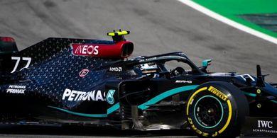 Hasil P1 F1 GP Rusia 2020 - Dominan, Valtteri Bottas Amankan Posisi Tercepat