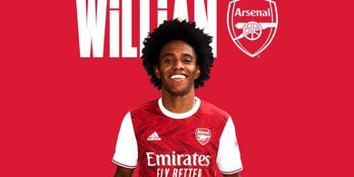Alasan Kuat Willian Putuskan Gabung Arsenal Usai Bela Chelsea
