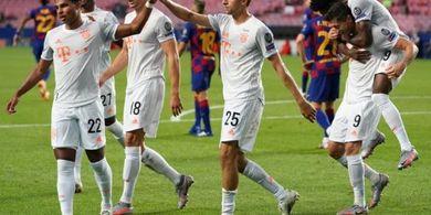 Barcelona Vs Bayern - Lionel Messi Mati Kutu, Hujan 5 Gol dalam 31 Menit