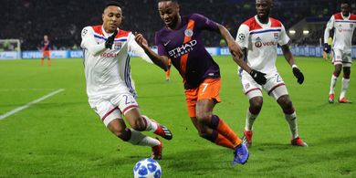 Man City Vs Lyon -  Momen The Citizens Putus Hasil Buruk di Perempat Final