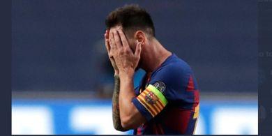 Barcelona Hancur, Terakhir Kali Tanpa Gelar Lionel Messi Masih 20 Tahun