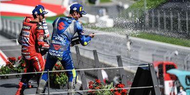 Joan Mir Jadi Rival Utama Andrea Dovizioso untuk Curi Gelar MotoGP 2020