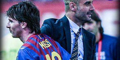 Lionel Messi ke Manchester City, Rekor Gol Liga Inggris Langsung Patah