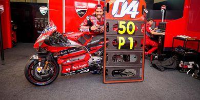 Di MotoGP 2020 Andrea Dovizioso Sudah Menyerah Karena Motornya?