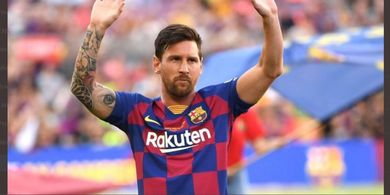 Calon Presiden Barcelona Ingin Abadikan Lionel Messi Lewat Nama Stadion