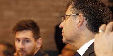 Josep Maria Bartomeu Undur Diri Besok, Lionel Messi Bertahan di Barcelona