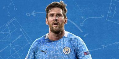 Manchester City Tawarkan Paket Lengkap Rp4,4 Triliun buat Lionel Messi