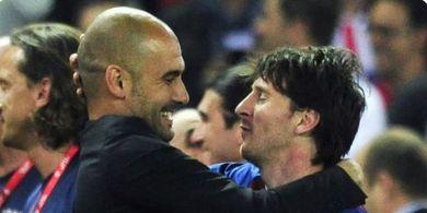 Calon Presiden Barcelona Ingin Pertemukan Kembali Pep Guardiola dan Lionel Messi