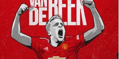 Donny van de Beek Sampaikan Pesan kepada Fans Manchester United Jelang Laga Pertamanya di Liga Inggris