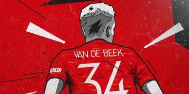 Kecewa, Donny van de Beek Sentil Manchester United Setelah Dikalahkan Crystal Palace