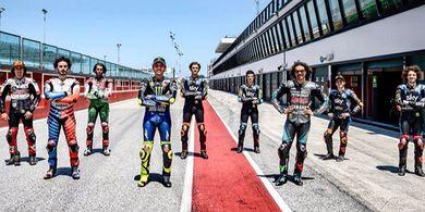 Valentino Rossi Sebut Pembalap VR46 Benar-benar Profesional