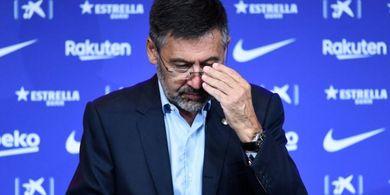 Mantan Presiden Barcelona dan 'Musuh' Lionel Messi Ditahan Polisi