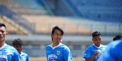 Pesan Pelatih untuk Kakang yang Tengah Berada di Timnas U-19 Indonesia