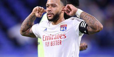 Cegah Pindah ke Barcelona, Olympique Lyon Beri Memphis Depay Nomor Penting