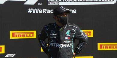 F1 GP Rusia 2020 - Lewis Hamilton Sebut 2 Penaltinya karena Ulah Steward