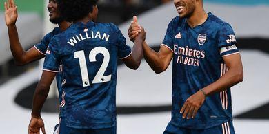 Aubameyang atau Willian? Mikel Arteta Sudah Tentukan Eksekutor Penalti Arsenal
