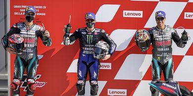 Klasemen MotoGP 2020 - Dovizioso Masih Selamat, Vinales Samai Poin Quartararo