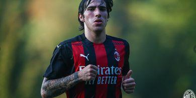 Miliki Stamina Kuda, Satu Gelandang AC Milan Bikin Sandro Tonali Heran