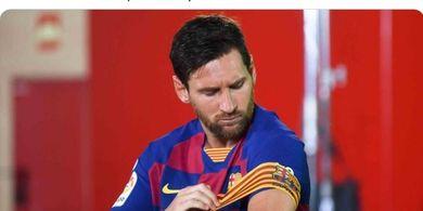 Mengaku Sakit Hati, Messi Tak Menyesal Ungkap Keburukan Barcelona