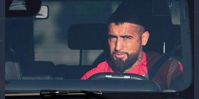 Selamat Datang di Inter Milan, Arturo Vidal Tiba di Italia